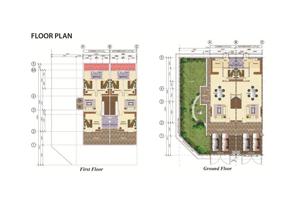 Taman adenium phase 3 20 x 75 setiatiwi sdn bhd for Floorplan com