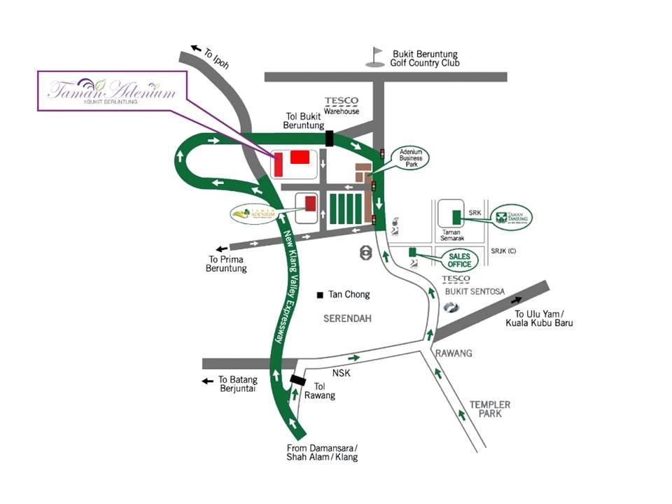Location Map (P1&P2)